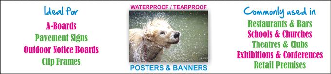 Tearproof & Waterproof