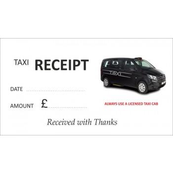 Mercedes Taxi Receipt Pads