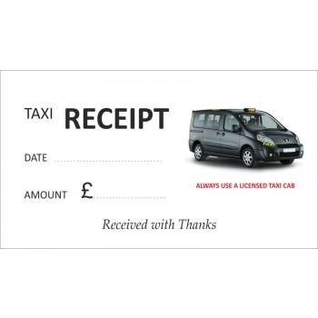 Peugeot Taxi Receipt Pads